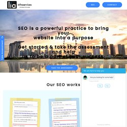 SEO Agency, SEO Services in Singapore