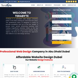 Terabyte, Website Design Dubai - Web Design Company in Dubai, Rated #1
