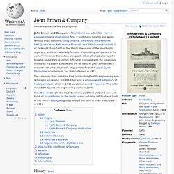 John Brown & Company