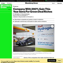 Company With 290% Gain This Year Aims For Green Deal Riches