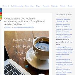 Comparaison des logiciels e-Learning Articulate Storyline et Adobe Captivate. - PATRICIA LAMAS - Écriture, édition, elearning et marketing du livre