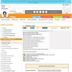 Comparaison rapide - AFE, Agence France Entrepreneur