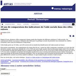 20 ans de comparaison des indicateurs de l'aide sociale dans des villes suisses - Artias