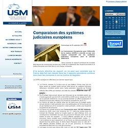 Comparaison des systèmes judiciaires européens