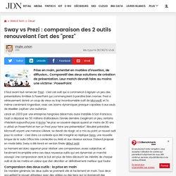 """Sway vs Prezi : comparaison des 2outils renouvelant l'art des """"prez"""""""