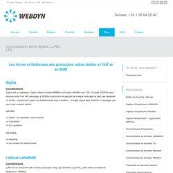 Comparaison entre Sigfox, LoRa, LTE – Webdyn