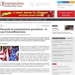 Pauvreté et comparaisons grossières : le cas France/États-Unis