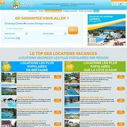 Locations vacances - Vacances Vues Du Ciel - Le Géocomparateur des vacances en France