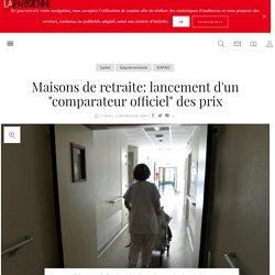 """Maisons de retraite: lancement d'un """"comparateur officiel"""" des prix - 14/12/16"""