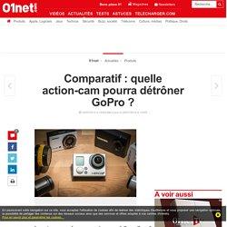 Comparatif : quelle action-cam pourra détrôner GoPro ?