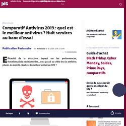 Comparatif Antivirus 2019 : quel est le meilleur antivirus ?