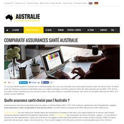 Comparatif assurances santé Australie