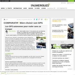 Comparatif : Bien choisir son GPS