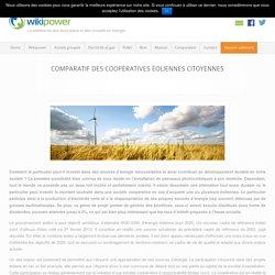 Comparatif des coopératives éoliennes citoyennes