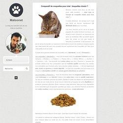 Comparatif de croquettes pour chat : lesquelles choisir ?
