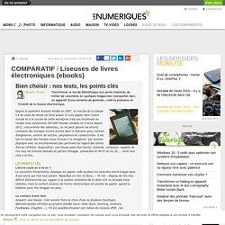 Comparatif : les livres électroniques