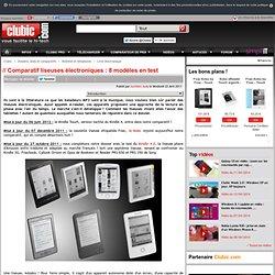 Comparatif liseuses électroniques (ebook) : 6 modèles en test