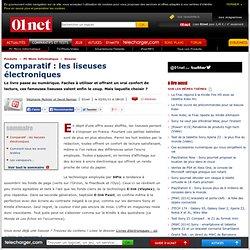 Comparatif : les liseuses électroniques