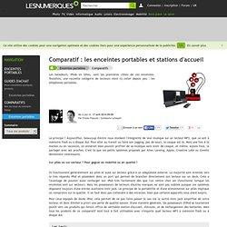 Comparatif : les enceintes portables et stations d'accueil