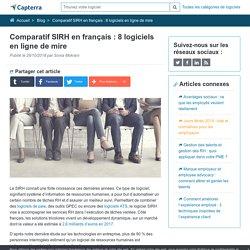 Comparatif SIRH en français : 8 logiciels en ligne de mire