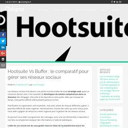 Comparatif entre Hootsuite et Buffer