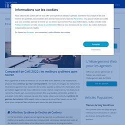 Comparatif CMS 2020 : liste des 7 meilleurs CMS - IONOS