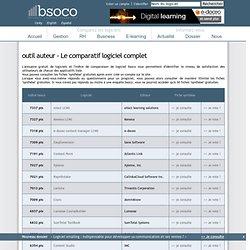 Comparatif logiciel