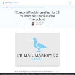 Comparatif logiciel emailing: les 12meilleurs outils