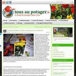 Comparatif des meilleurs sites de vente de graines pour le potager