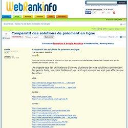 Comparatif des solutions de paiement en ligne : Monétisation d'un site web