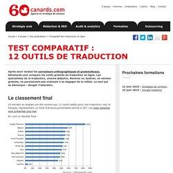 Comparatif des outils de traduction en ligne