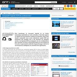 Comparatif 4 logiciels OCR très professionnels ! : Introduction