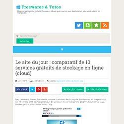 comparatif de 10 services gratuits de stockage en ligne (cloud)