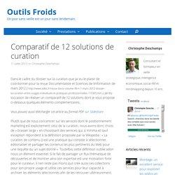 Comparatif de 12 solutions de curation