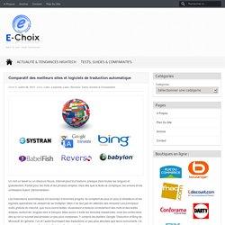 Comparatif des meilleurs sites et logiciels de traduction