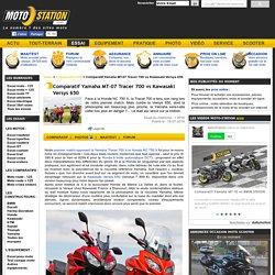 Comparatif Yamaha MT-07 Tracer 700 vs Kawasaki Versys 650