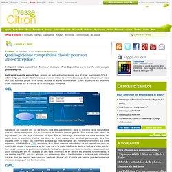 Comparatifs de logiciels de comptabilité en ligne