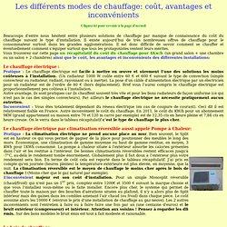 Les diff rents gaz pearltrees - Comparaison chauffage electrique et gaz ...