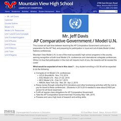 Mountain View » AP Comparative Government