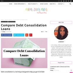 Compare Debt Consolidation Loans