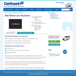 Dial Direct Car Insurance - Compare Quotes Online