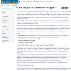 Compare the best health insurance and HMO in Philippines