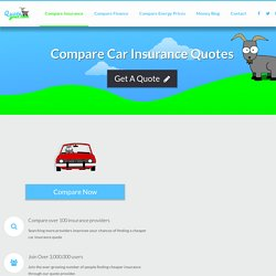 Cheap Car Insurance With Quote Goat UK