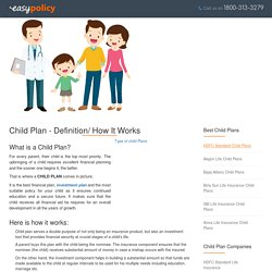 Compare Best Online Child Investment Plans