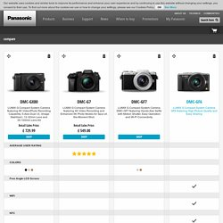 compare - Panasonic UK & Ireland