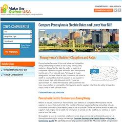 Compare Pennsylvania Electric Rates