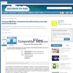 CompareMyFiles: encuentra las diferencias entre dos archivos de texto