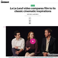 La La Land video compares film to classic musicals