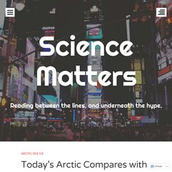 Today's Arctic Compares with 150 years ago