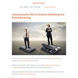 Comparing the ROI of Content Marketing and Paid Advertising